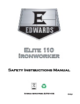 110 Ton Elite Ironworker Manual