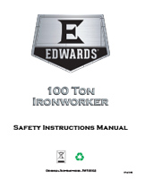 100 Ton Ironworker Manual