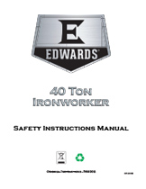 40 Ton Ironworker Manual