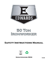 50 Ton Ironworker Manual
