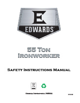 55 Ton Ironworker Manual
