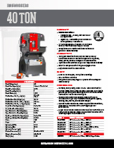 40 Ton Specification Sheet