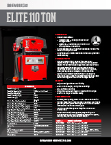110 Ton Elite Specification Sheet