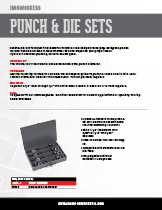 Punch and Die Sets