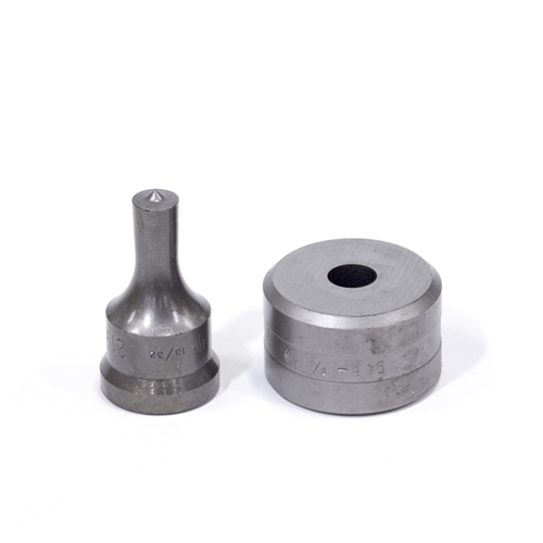 "15/32"" Round Punch & Die Set"