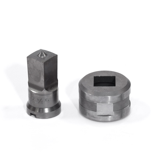 "3/4"" Square Punch & Die Set with Key-Way"