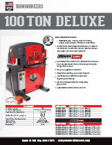 100 Ton Deluxe Specification
