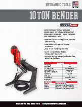 10 Ton Tube and Pipe Bender Specification