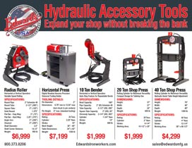 Hydraulic Accessory Tools specifications