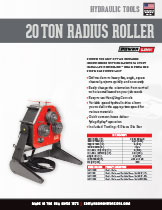 Radius Roller Specifications