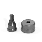 "3/8"" Square Punch & Die Set with Key-Way"