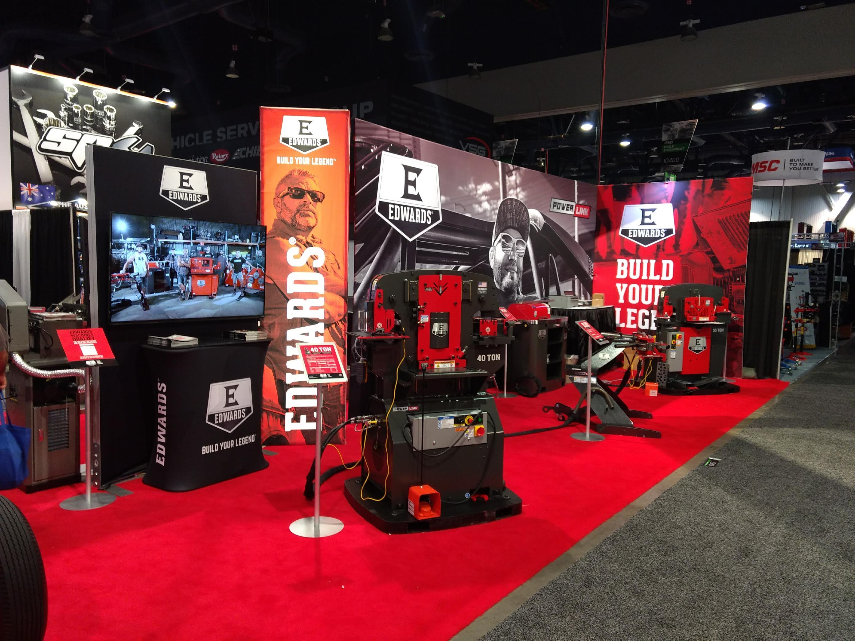 Trade Shows Edwards Manufacturing